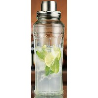 Home Essentials & Beyond Mixology Cocktail Shaker、33オンス、クリア
