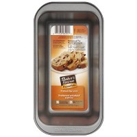 WORLD KITCHEN 1075051 Medium Loaf Pan, 8 x 4 x 2-Inch, Metallic by World Kitchen