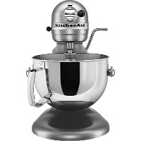 KitchenAid KV25G0XSL Professional 5 Plus Series Bowl-Lift Stand Mixer, Silver, 5 quart by KitchenAid