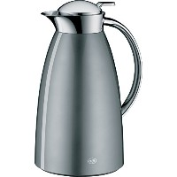 alfi Gusto Glass Vacuum Lacquered Metal Thermal Carafe for Hot and Cold Beverages, 1.0 L, Space...