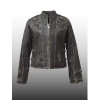 SOVIET(ソビエト) Lady's Leather Jacket @Olive レディス/レザー 【smtb-kd】【RCP】