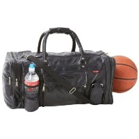 Embassy Italian Stone Design Genuine Leather Gym Bag LULGYM