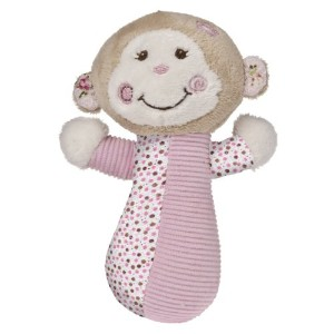 Mary Meyer Baby Cheery Cheeks Rattle Tails Monkey (並行輸入)