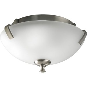 Westin 2ライトclose-to-ceilingフラッシュマウント 14-Inch Diameter x 7-Inch Height P3290-09EBWB 1