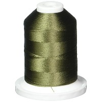 Rayon Super Strength Thread Solid Colors 1100 Yards-Olive Drab (並行輸入品)