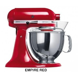 Kitchen Aid 5KSM150 Stand Mixer Empire Red- 220 Volts Only! Will Not Work In The USA by KitchenAid