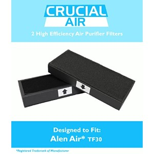2PK Alen Air TF30 Air Purifier Filters Fit T100 & T300 Air Purifiers, Designed & Engineered by...