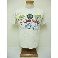 BuzzRickson's[バズリクソンズ] Tシャツ スラブ U.S.AIR FORCE (WHITE)