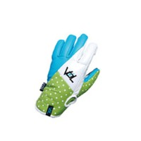 VOLUME GLOVES RABBIT LEATHER WATERPROOF (VGi) SKY×LIME×WHITE 【スノーボード グローブ】715005