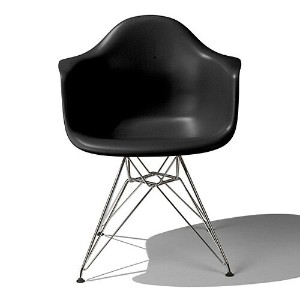 Eames Shell Chair イームズ チェア Arm Chair(DAR) /ブラック【smtb-ms】【RCP】.