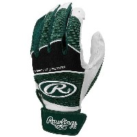 ローリングス メンズ 野球 グローブ【Rawlings Workhorse Batting Gloves】Dark Green