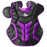 オールスター メンズ 野球 プロテクター【All Star System 7 Ultra Cool Chest Protector】Black/Purple