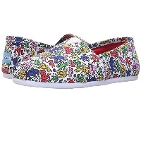 TOMS KEITH HARING POP WOMEN'S CLASSICS (US W7(24cm))
