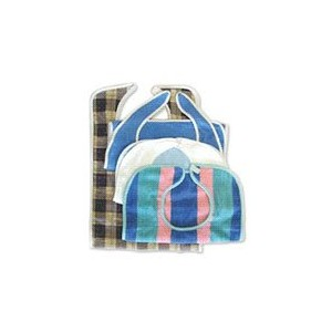 BIB MULTISTRIPE TERRY [Baby Product] [Baby Product] by Salk