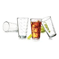 Libbey 8 Piece Reno Cooler Set, Clear by Libbey
