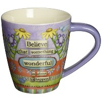 LANG 2121015 Believe Cafe Mug by Lang