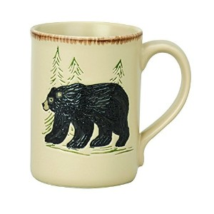 Park Designs Rustic Retreat Mug - Bear by Park Designs