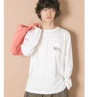 【予約】UR MHL.×URBAN RESEARCH 別注LOGO LONG-SLEEVE T-SHIRTS【アーバンリサーチ/URBAN RESEARCH Tシャツ・カットソー】