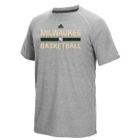 Milwaukee Bucks adidas 2016 On-Court climalite Ultimate T-Shirt メンズ Gray NBA Tシャツ ミルウォーキー バックス