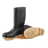 Tingley Rubber Stormtracks Youth Pvc Boot Black 8 - 11714
