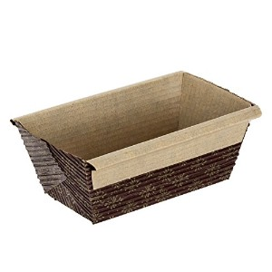 Kitchen Supply 4 x 2 x 2 Inch Paper Loaf Pan, Set of 25 by Kitchen Supply
