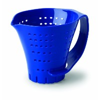 Chef'S Planet Measuring Colander, Blue by Chef's Planet