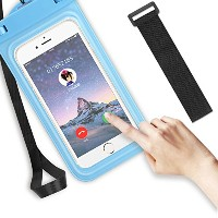 TOQIBO 防水ケース防水 ポーチ iphone スマホ用 温泉 潜水 お風呂 水泳 砂浜 水遊びなど用IPX8認定獲得iPhone /Sony/Samsung/Huaweiなど 5...