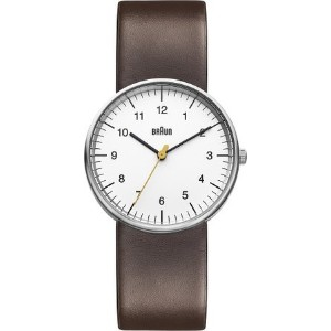 ブラウン Braun Men's BN0021WHBRG Classic Analog Display Japanese Quartz Brown Watch 男性 メンズ 腕時計 【並行輸入品】