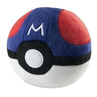TOMY Pokemon Plush Master Ball Plush [並行輸入品]