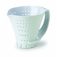 Chef's Planet 3 Cup Measuring Colander, White by Chef's Planet