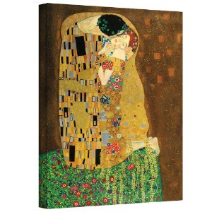 ' The Kiss ' by Gustav Klimtキャンバスアート 20x24 0kli001a2024w