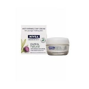 Nivea Visage Pure & Natural Anti-wrinkle Day Cream 50ml by Thailand