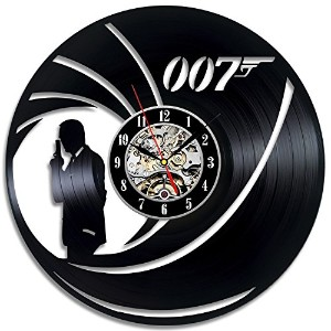 James Bond 007 Gift Vinyl Wall Art Modern Home Room Record Vintage Decoration - Win a prize for...