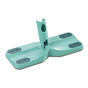 Leifheit Click System Clean and Away Floor Wiper with Cleaning Pads, Turquoise, 5-pack by Leifheit