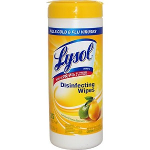 Lysol Disinfecting Wipes 35 ctシトラス4 -パック