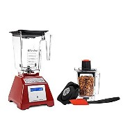 Blendtec Total Blender Classic with WildSide & Twister Jars - Red [並行輸入品]