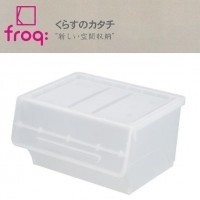 froq フロック 収納ケース ワイド30 クリア 6個組 fr-W30CL