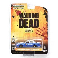 """GREENLIGHT 1:64SCALE HOLLYWOOD """"THE WALKING DEAD"""" """"FORD CROWN VICTORIA POLICE INTERCEPTOR"""" グリーンライト..."""