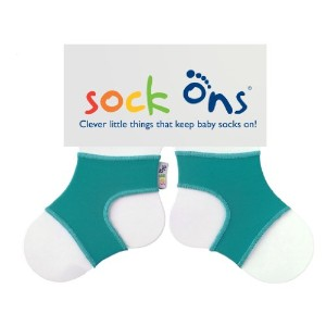 Sock Ons Socks - 6-12 Months, Turquoise by Sock Ons