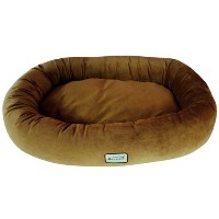 Armarkat Pet Bed 28-Inch by 21-Inch D02CZS-Small, Brown by Armarkat