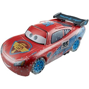 Mattel Disney-Pixar CARS - ICE RACERS - 1:55 Scale Special Icy Edition LIGHTNING MCQUEEN マテル ディズニー ...