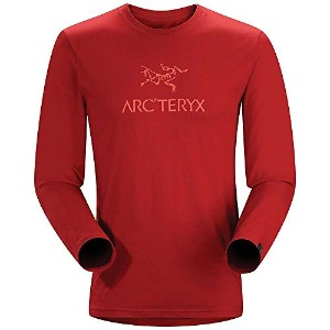 ARC'TERYX(アークテリクス) Bird Word T-Shirt LS Oxblood Sサイズ