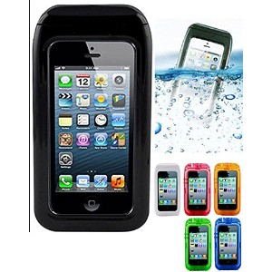 ARYCA WATER PROOF CASE 防水ケース ari case WAVE 5 iPhone5 アイフォン5 専用 防水カバー BLACK