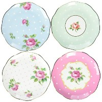 Royal Albert Mixed Coasters Set of 4 by Royal Albert