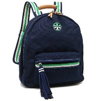 TORY BURCH バッグ トリーバーチ 35657 403 EMBROIDERED-T BACKPACK リュック・バックパック ROYAL NAVY [並行輸入品]