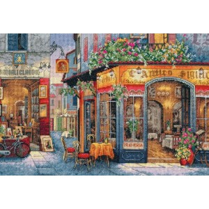 DIM クロスステッチキット European Bistro 【並行輸入品】 Dimensions Needlecrafts Counted Cross Stitch European Bistro...