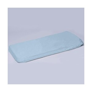 Mini Co-Sleeper Poly/Cotton Sheet - Color: Light Blue by BabyDoll Bedding