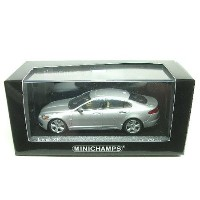 Jaguar XF 2007 in silver 1/43