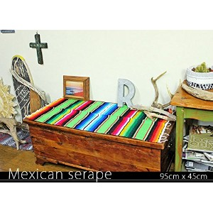 RUG&PIECE Mexican Serape made in mexcico ネイティブ メキシカン サラペ メキシコ製 (rug-5535)