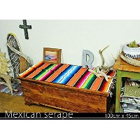 RUG&PIECE Mexican Serape made in mexcico ネイティブ メキシカン サラペ メキシコ製 (rug-5533)